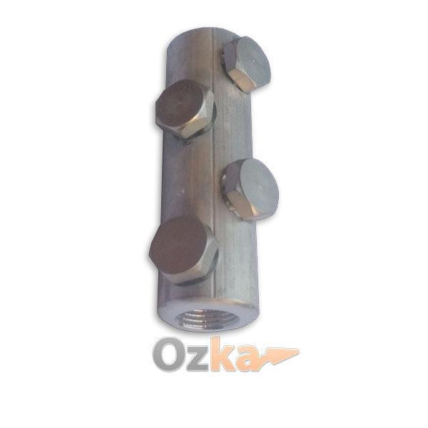 Гильза алюминиевая с отрывными болтами алюминиевыми Тип СБ